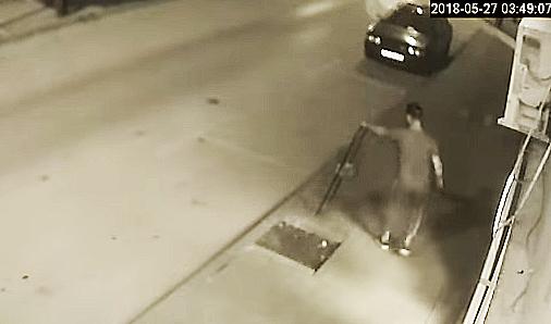REŠEN SLUČAJ: Krivična prijava zbog lomljenje kante u centru Svrljiga