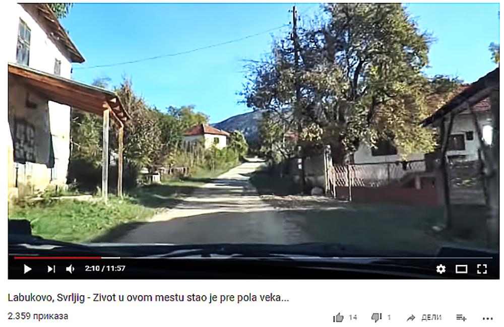 VIDEO: Labukovo, Svrljig – Život u ovom mestu stao je pre pola veka…