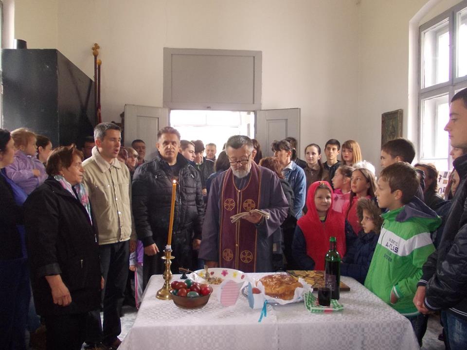 Uskrs obeležen i u crkvi Sv. Nikole u Lalincu