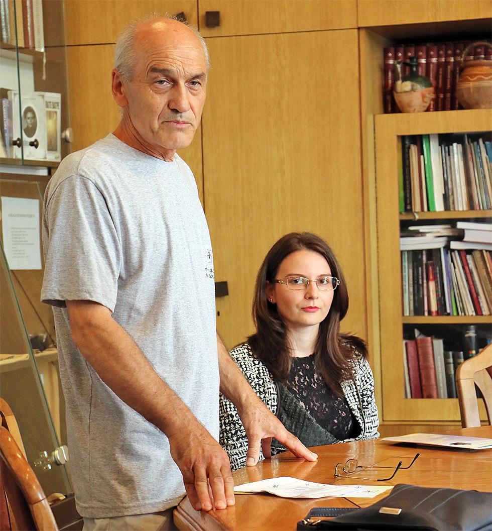 Foto: Svrljiške novine / Slaviša Milivojević i Milica Milenković