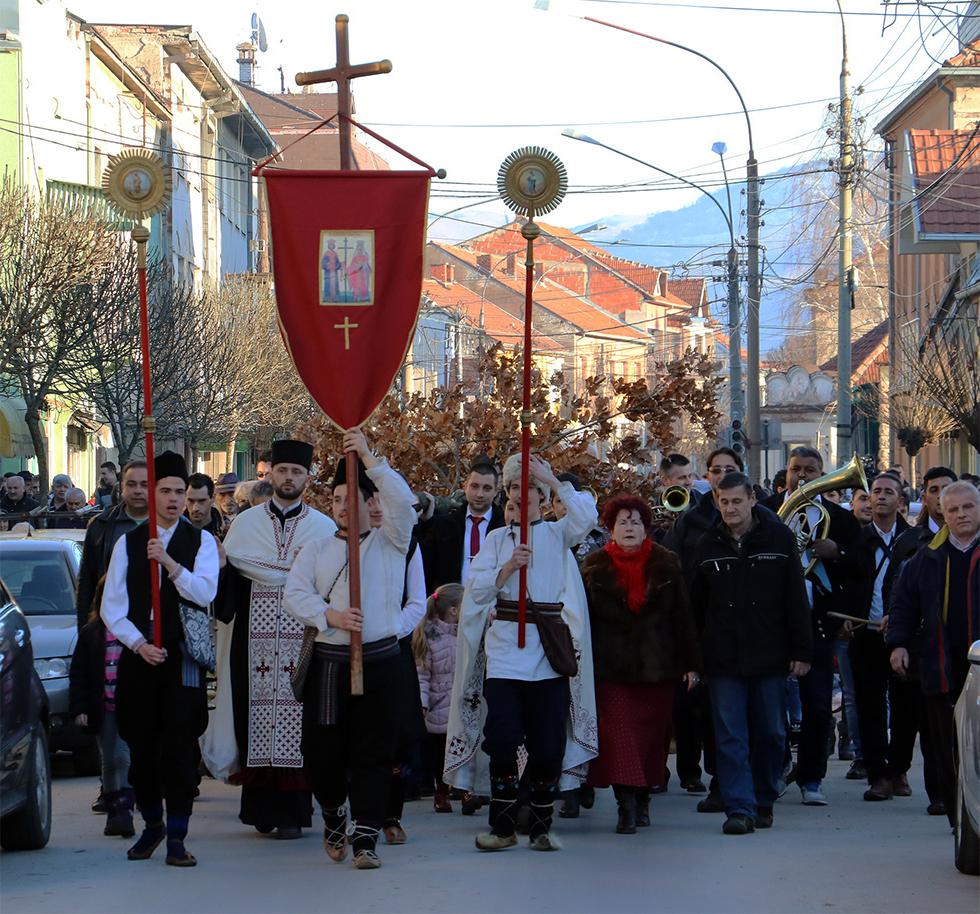 Badnji dan u Svrljigu, foto: M. Miladinović, Svrljiške novine