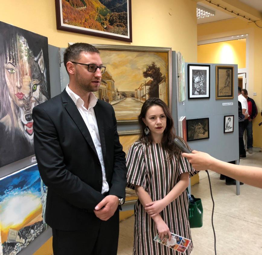 ''Majska izložba slika'' povodom Dana opštine 2