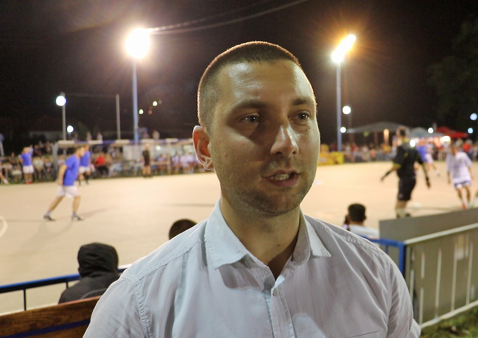 Pomoćnik Marković na otvaranju turnira, foto: M. Miladinović, Svrljiške novine