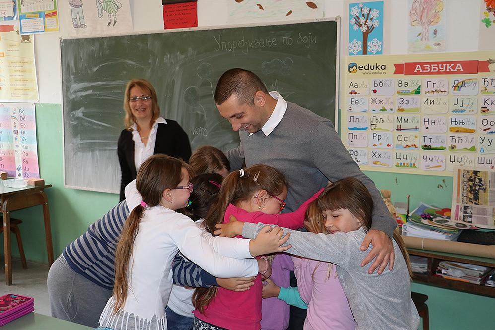 Markovic sa decom u Drajincu