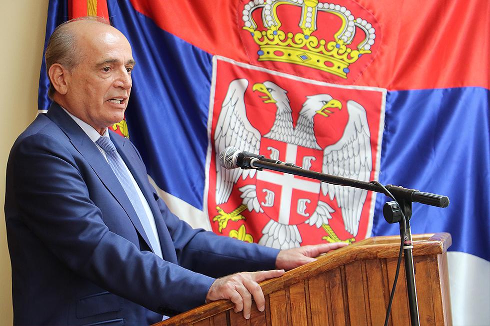 Ministar Milan Krkobabić