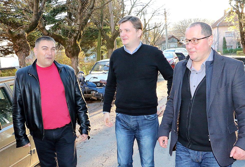 Jovanov i Milovanović sa svrljiškim naprednjacima o daljim aktivnostima