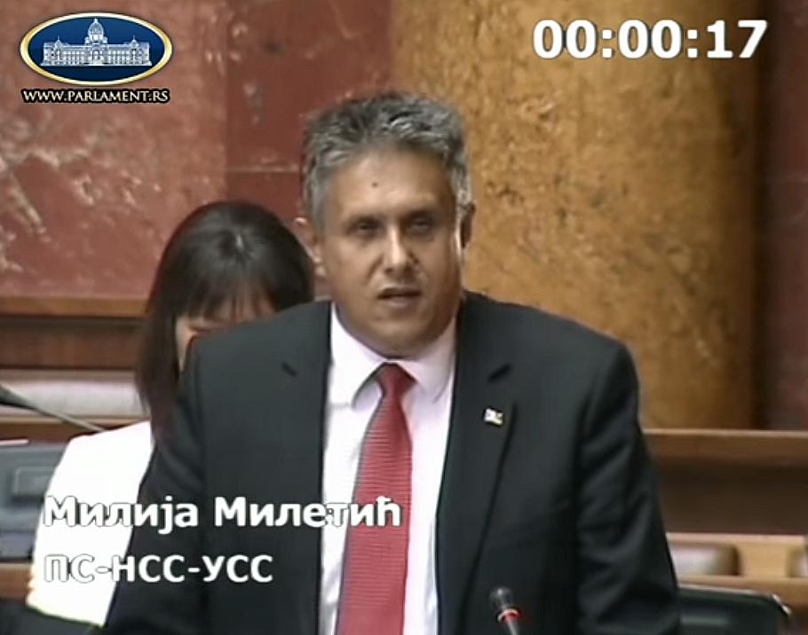 Miletić izabran za člana delegacije Crnomorske ekonomske saradnje