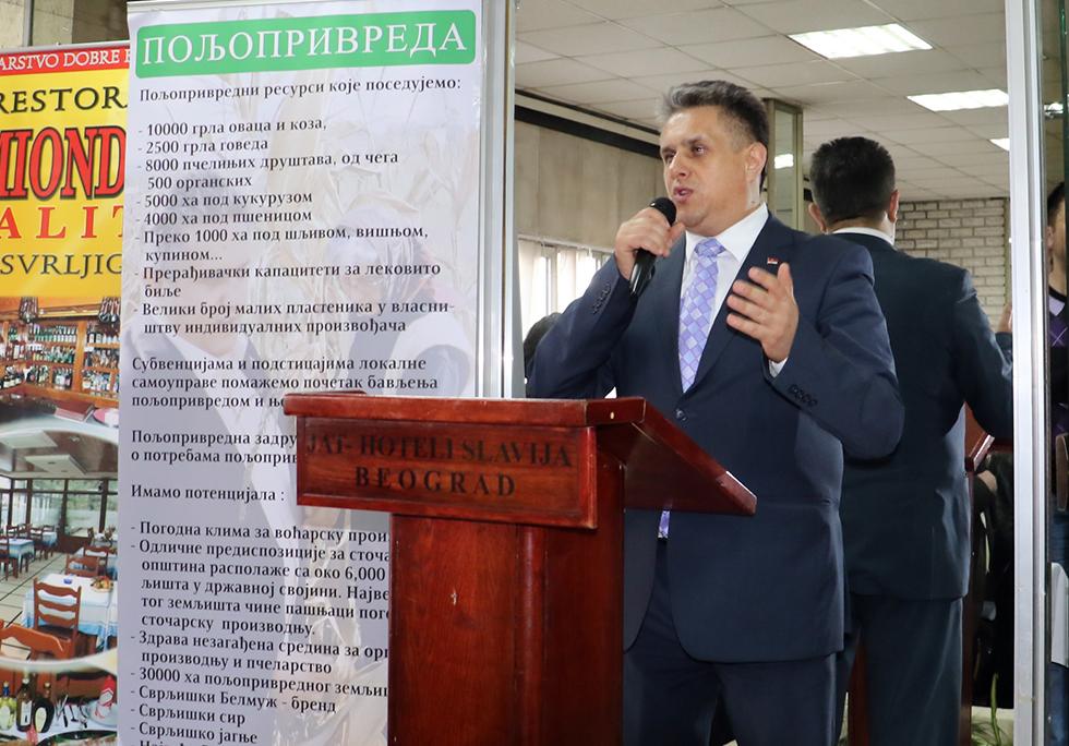 """Miletić u petak na TV Pink o manifestaciji """"Dani Svrljiga u Beogradu"""""""