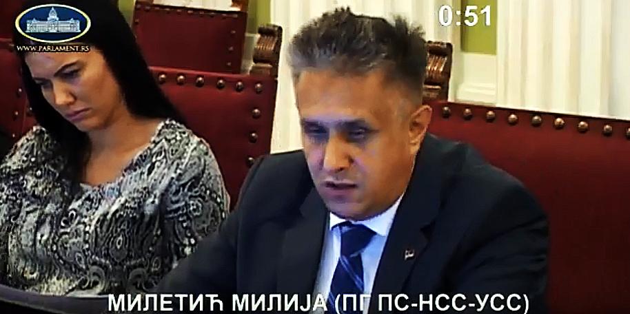 Miletić na Odboru za poljoprivredu o problemima u poljoprivredi jugoistoka Srbije usled vremenskih neprilika