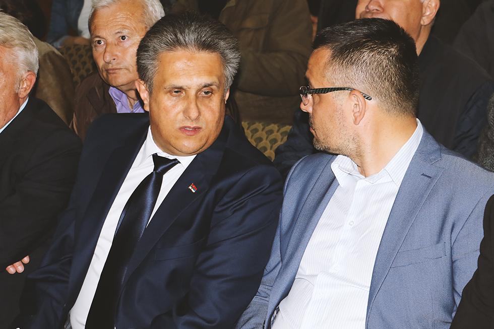 Narodni poslanik Milija Miletić i ministar poljoprivrede Branislav Nedimović, foto: Svrljiške novine