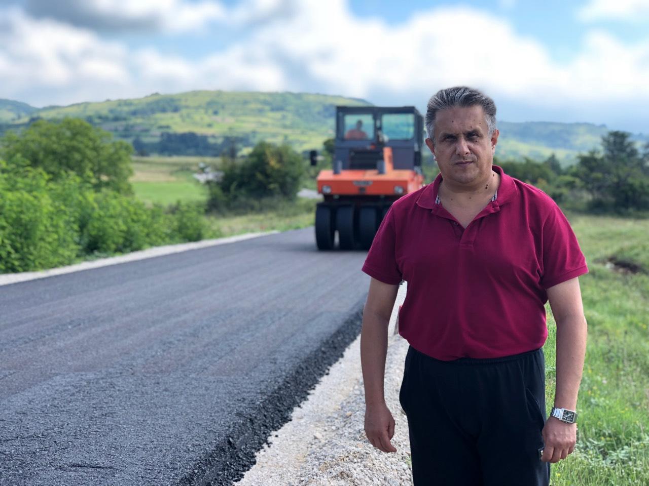 Još samo 1,2km do završetka asfaltiranja puta od Svrljiga do Stare planine