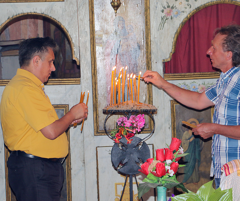 Foto: M.M. / Milija Miletić i Nebojša Antonijević