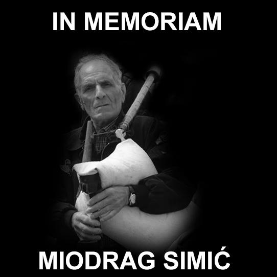 Preminuo gajdaš Miodrag Simić