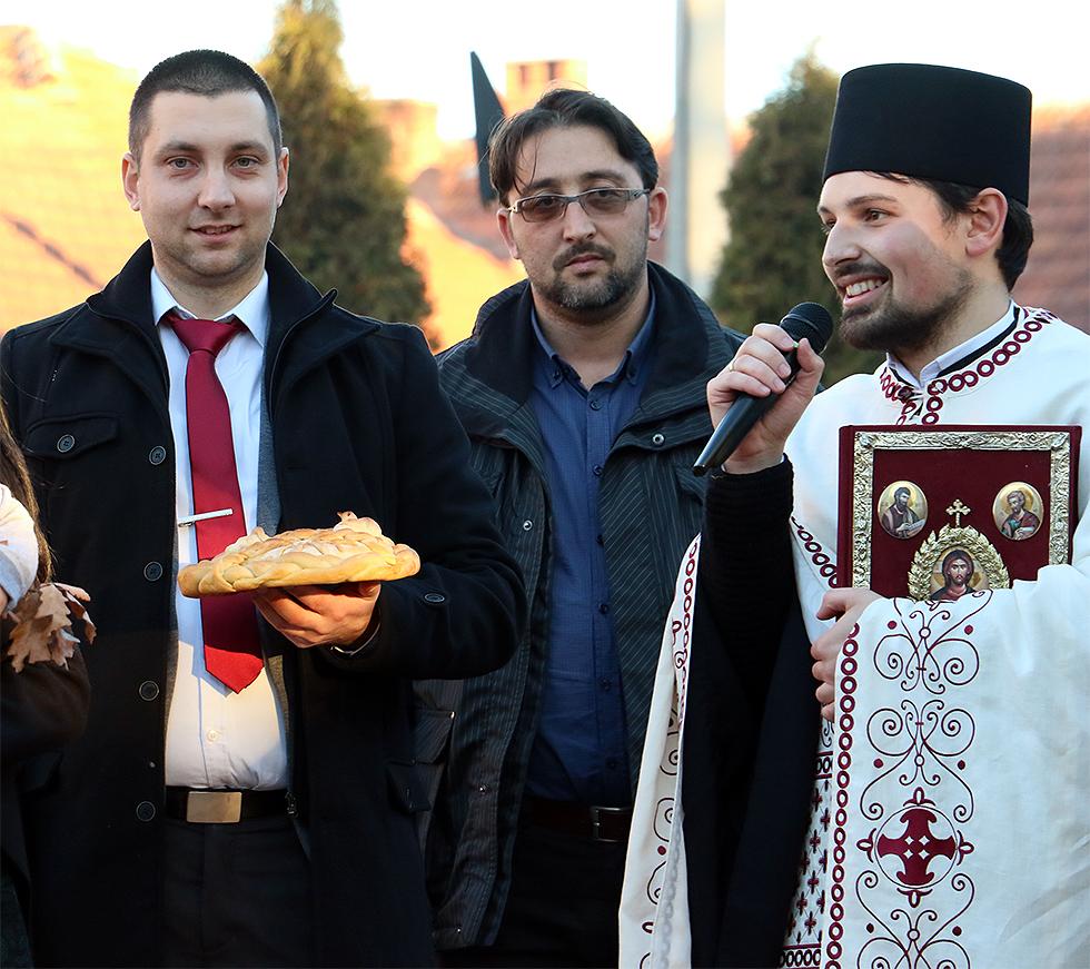 Marković i Davidović, foto: M. Miladinović, Svrljiške novine
