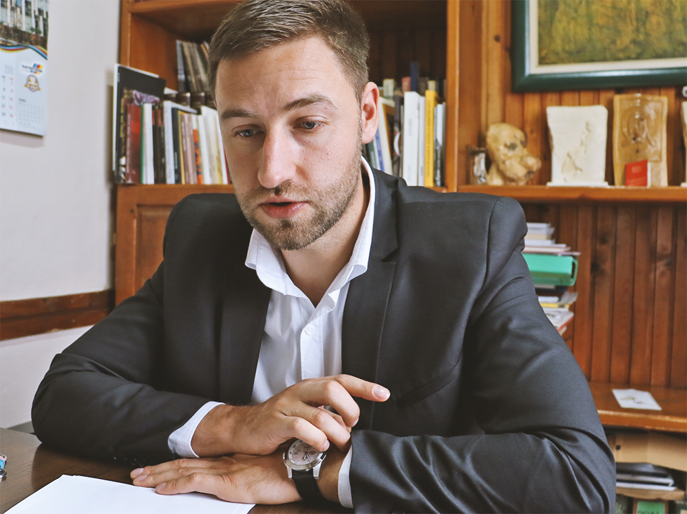Marko Mladenović - direktor CTKS Svrljig, foto: Svrljiške novine