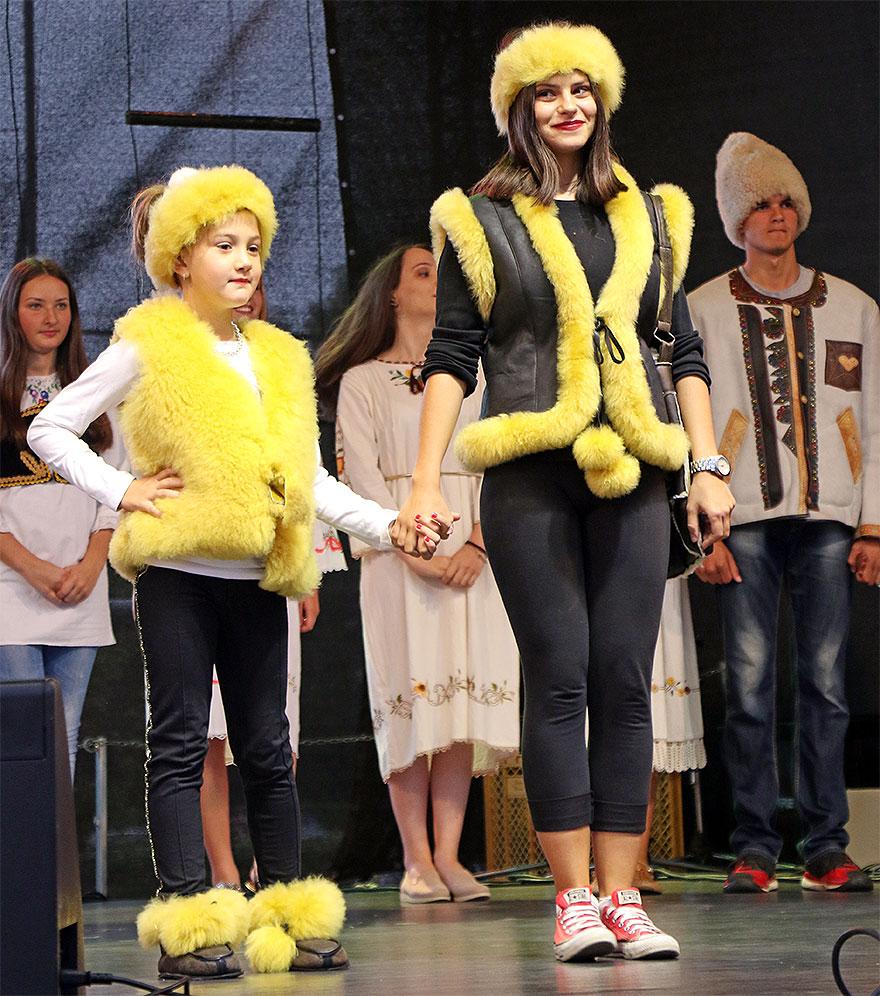Predstavljena modna linija, foto: M.M. / Svrljiške novine