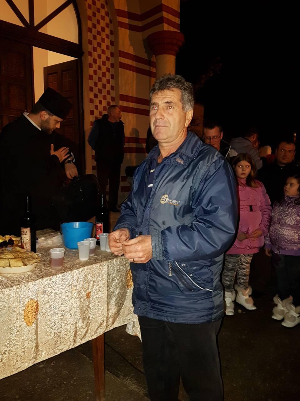 Nebojša Krstić koji je pronašao krstić u česnici