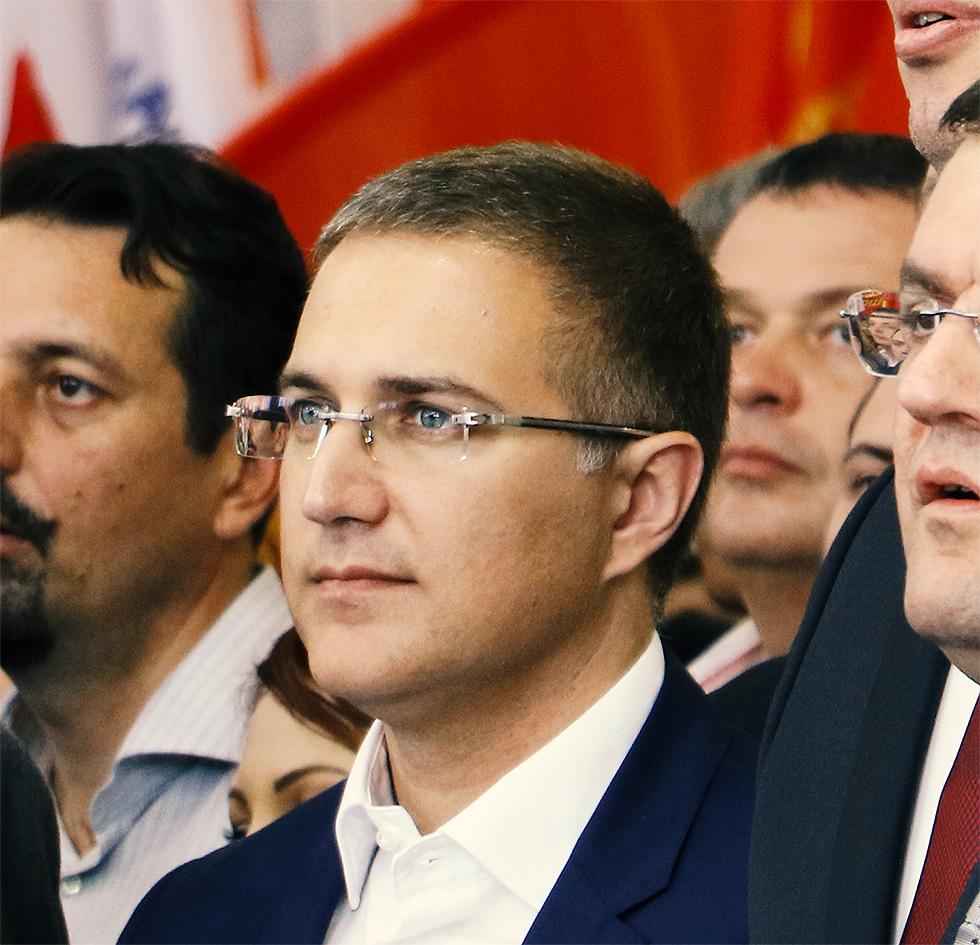 Ministar Stefanović, foto: M. Miladinović, Svrljiške novine