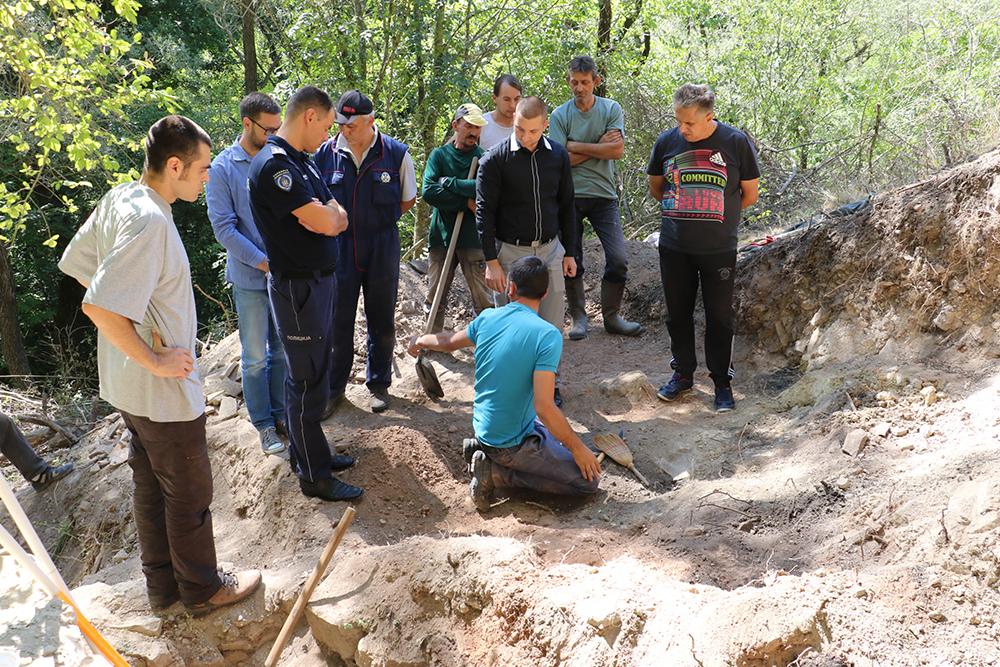 Iskopine ispod Starog grada Svrljiga, foto: M. Miladinović