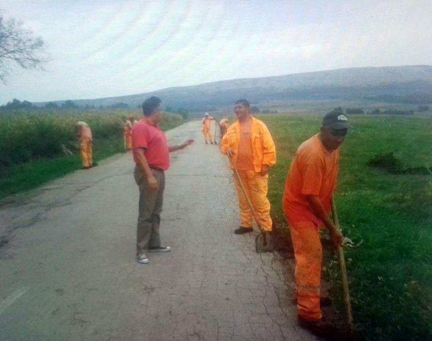 Nastavak asfaltiranja puta od Gojmanovca do Svrljiga