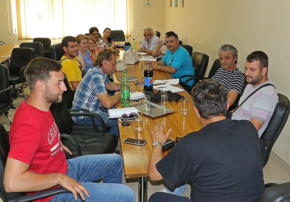 Sastanak sa predstavnicima JP Direkcije i CTKS