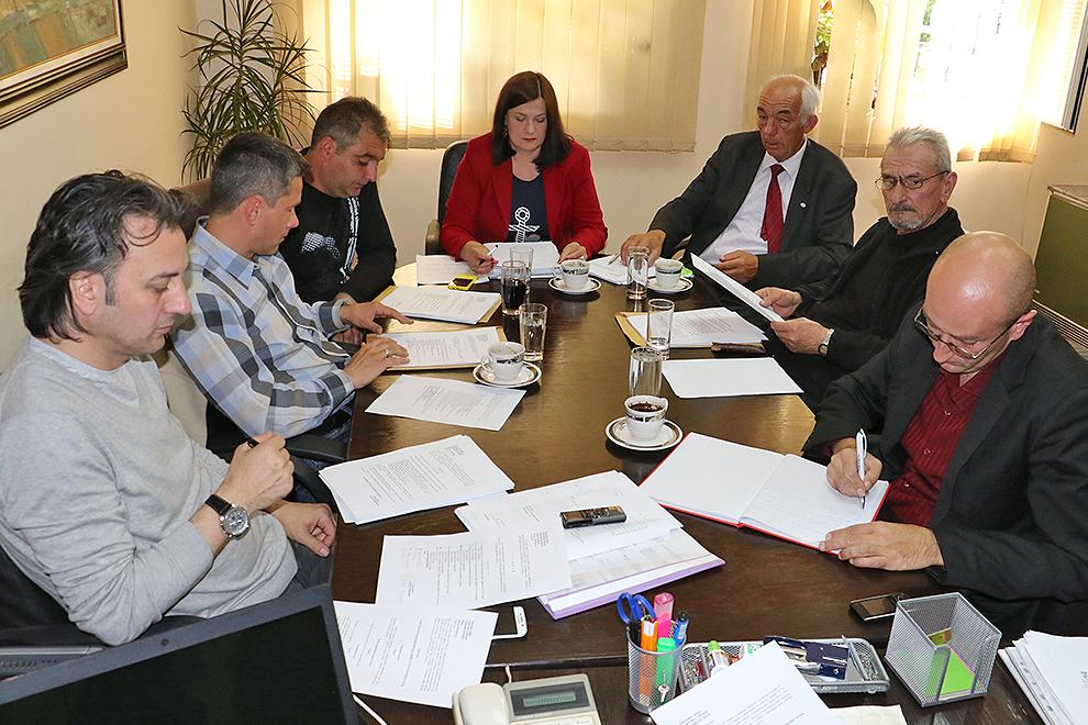 Održana prva sednica Opštinskog veća u novom sazivu