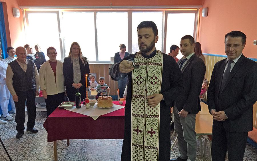 Obeležavanje Sv. Save u PU ''Poletarac'', foto: M. M. / Svrljiške novine