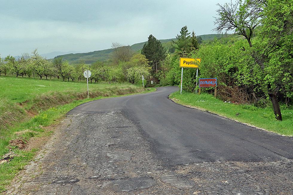 Završena prva faza rekonstrukcije puta do Gojmanovca