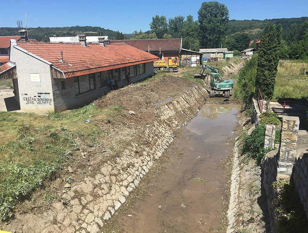 Uređeno korito Pravačke reke