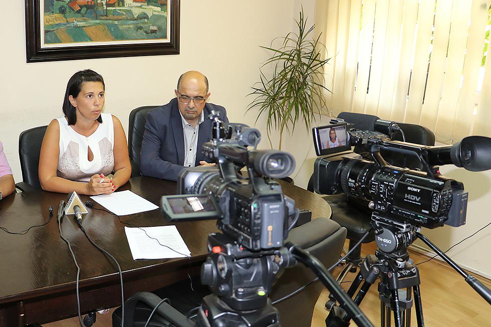 Konferencija za novinare predsednice opštine Svrljig