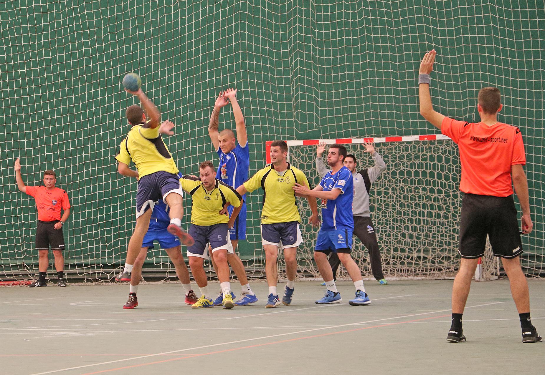Rukometna utakmica između ''Progresa'' i ''Železničara'' iz Niša, foto: M.M. / Svrljiške novine