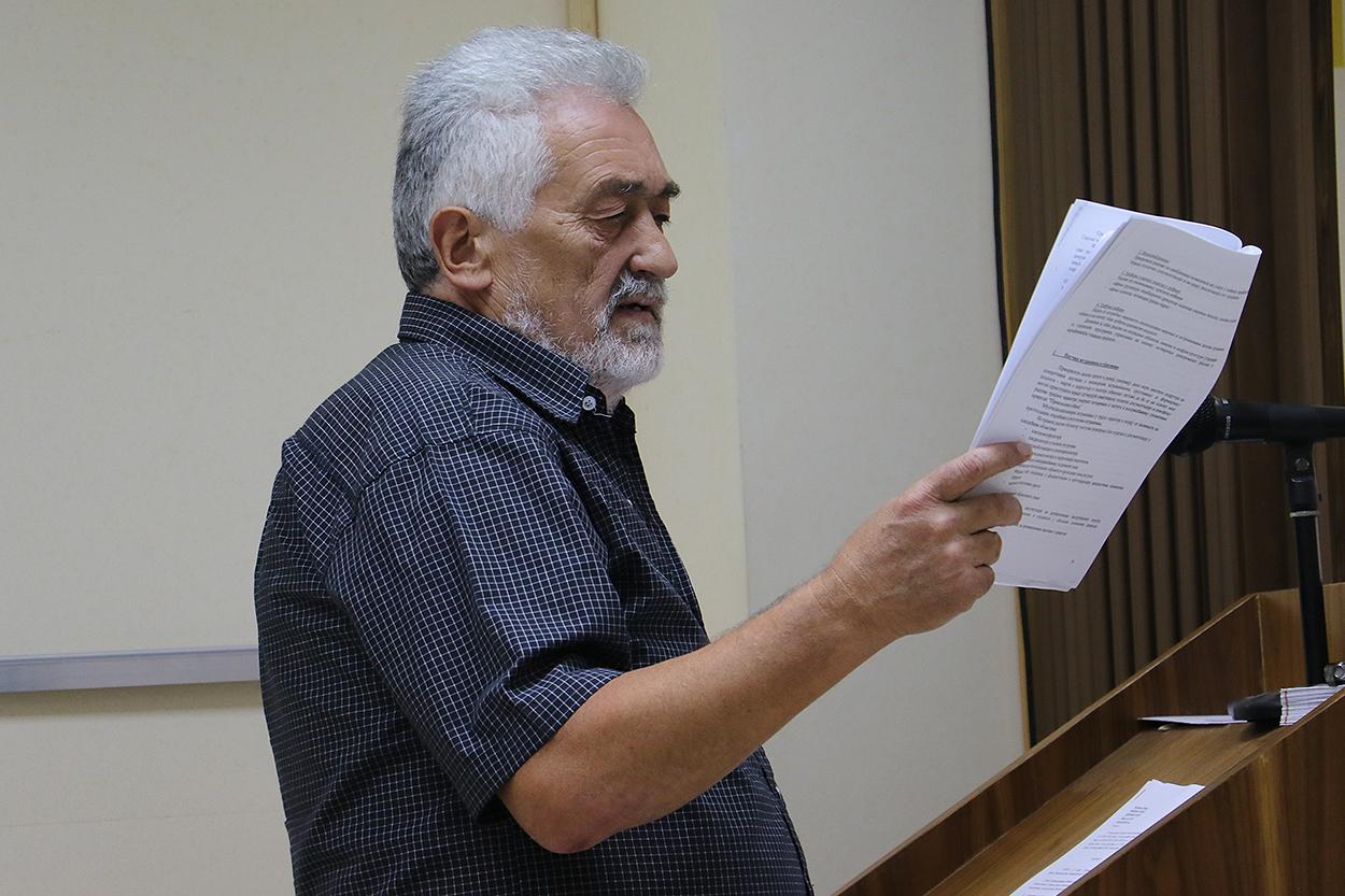 Odbornik Raco Mentović, foto: M. Miladinović