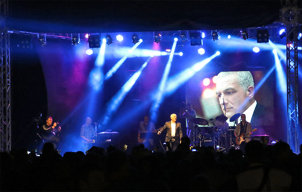 Koncert Željka Samardžića - 11. Belmužijada, foto: M.M. / Svrljiške novine