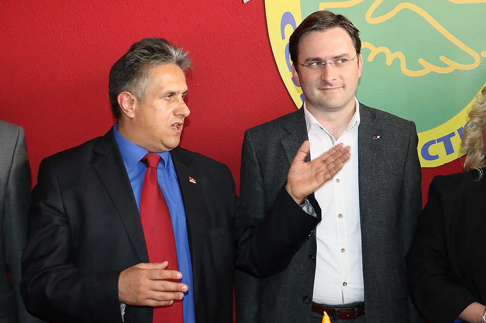 Ministar Selaković na proslavi slave Ujedinjene seljačke stranke