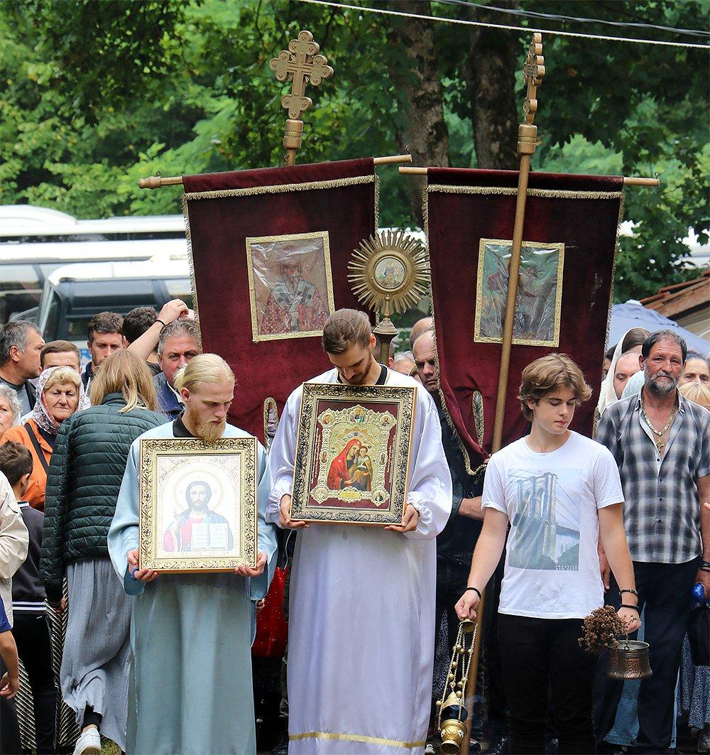 Proslava Sv. Arhangela Gavrila u Pirkovcu nadomak Svrljiga, foto: M. M. Svrljiške novine
