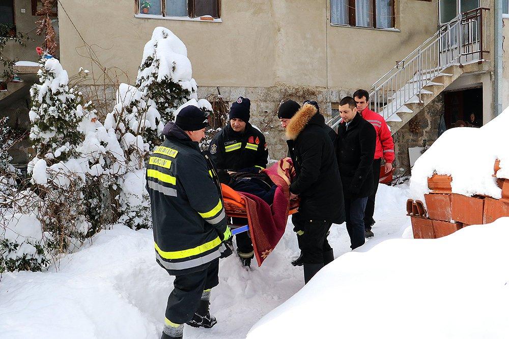 Spašavanje, foto: M. Miladinović