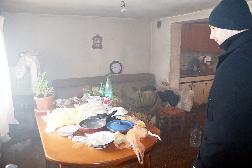 Dim se spustio do poda, foto: M. Miladinović