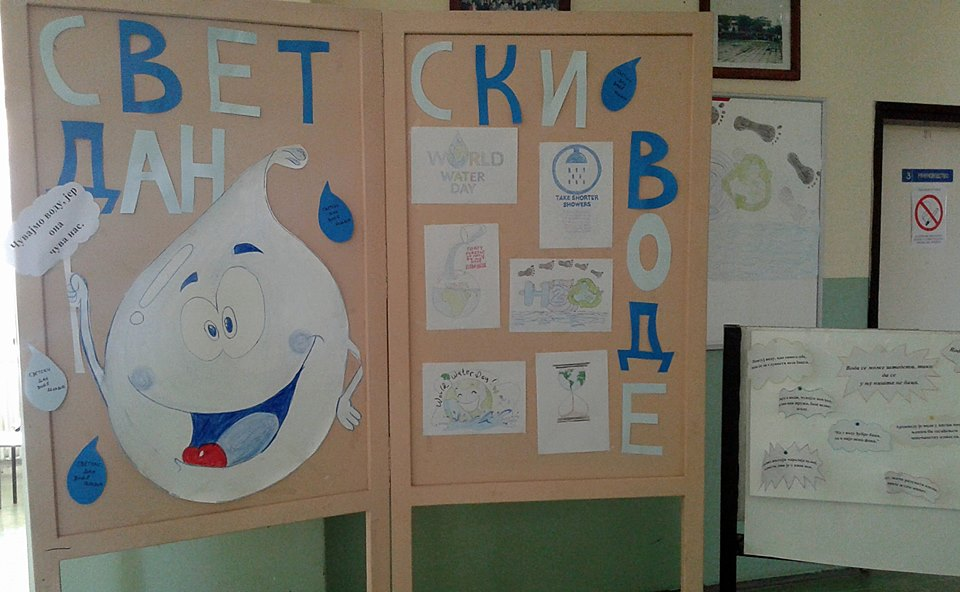 Srednjoškolci obeležili Svetski dan voda