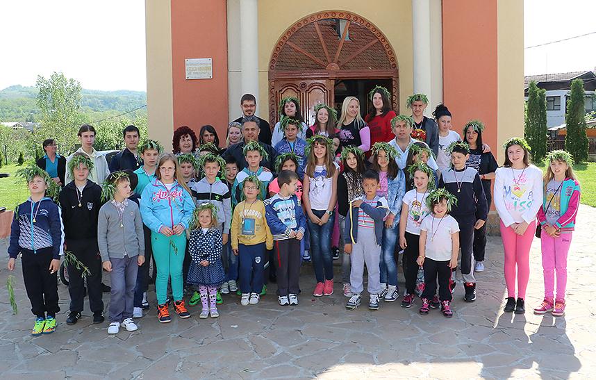 Sa obeležavanja praznika Vrbica - Lazarova subota