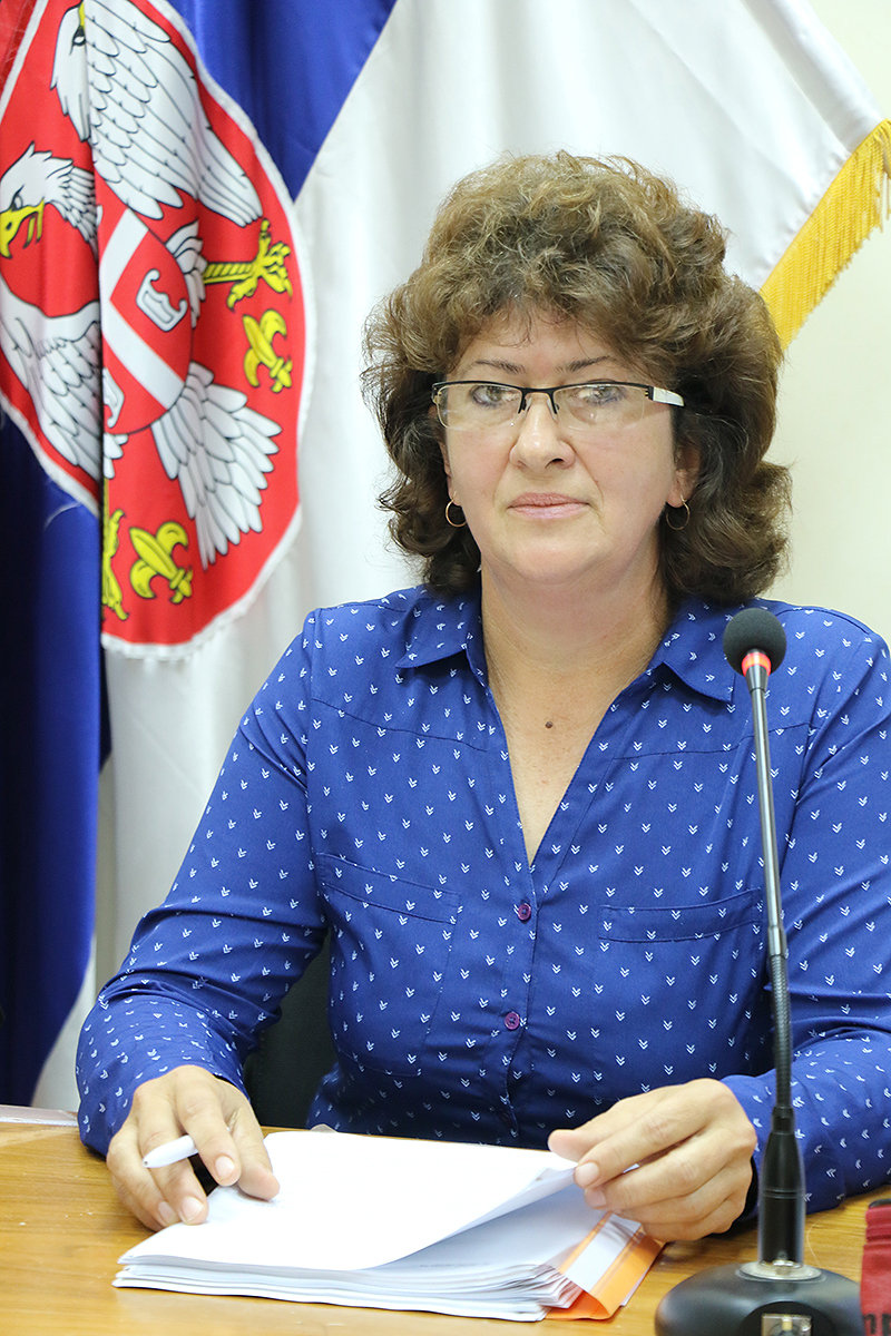 Tatjana Lazarević, predsednica SO Svrljig, foto: M. Miladinović