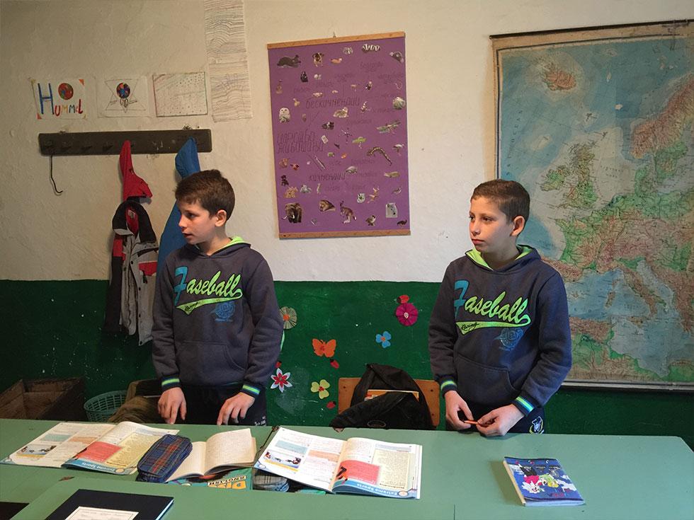 Ucenici u Gusevcu