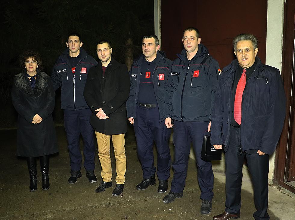 Vatrogasci - dežurna ekipa