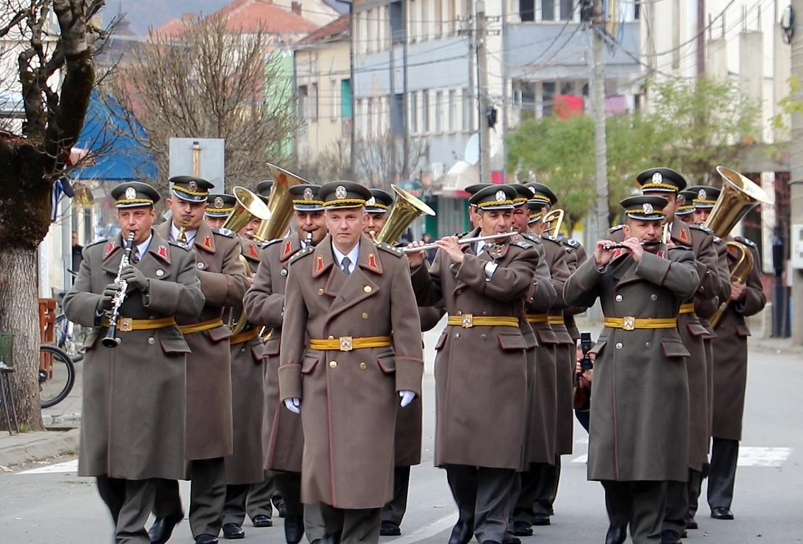 Svečanost povodom Dana Kopnene vojske Srbije u Svrljigu