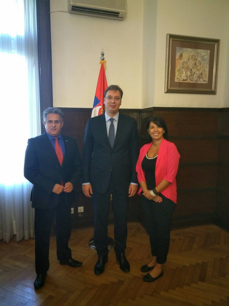 Miletić i Trifunovićeva razgovarali sa predsednikom Vučićem o razvoju Svrljiga