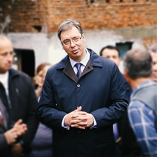 Predsednik Srbije Aleksandar Vučić u poseti Svrljigu i selu Beloinje, foto: Svrljiške novine