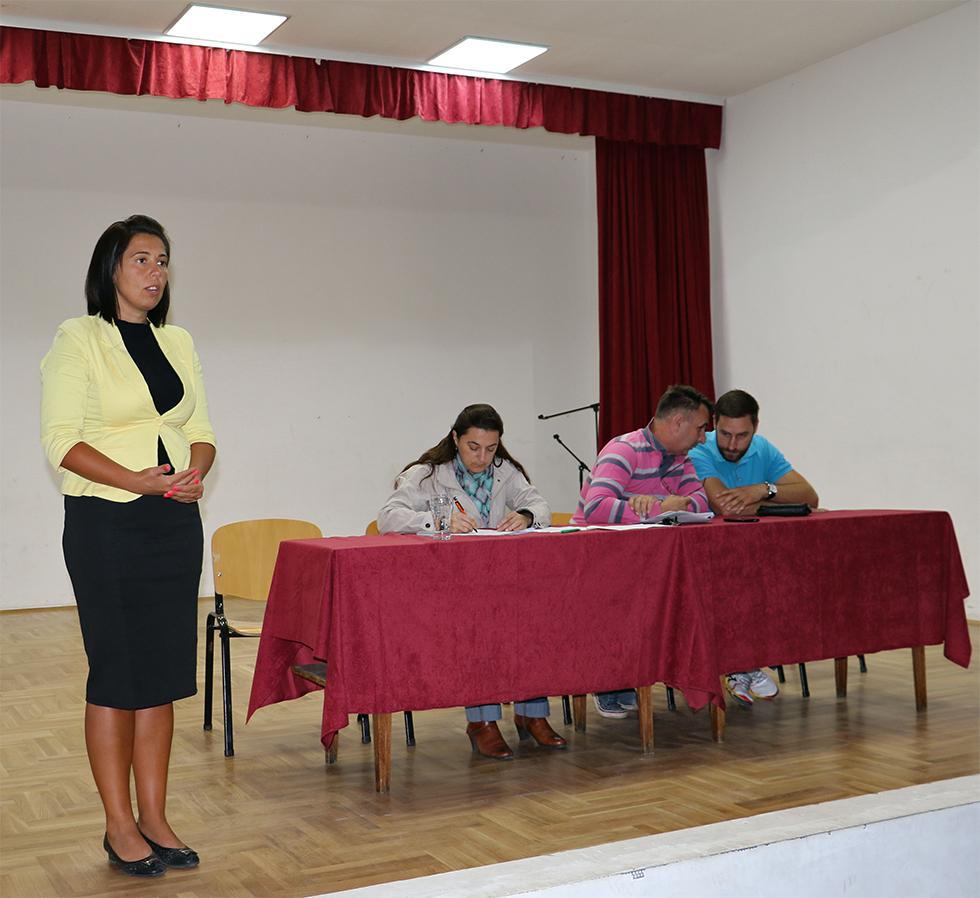 Predsednica opštine Svrljig Jelena Trifunović, foto: M.M.