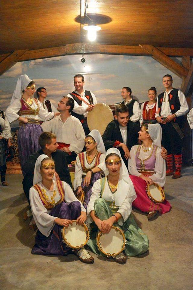 Zajednički folklorni nastup Svrljižana i Knjaževčana