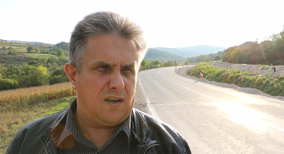 """Miletić obišao asfaltiranu deonicu puta kod ''Razbiglave"""""""