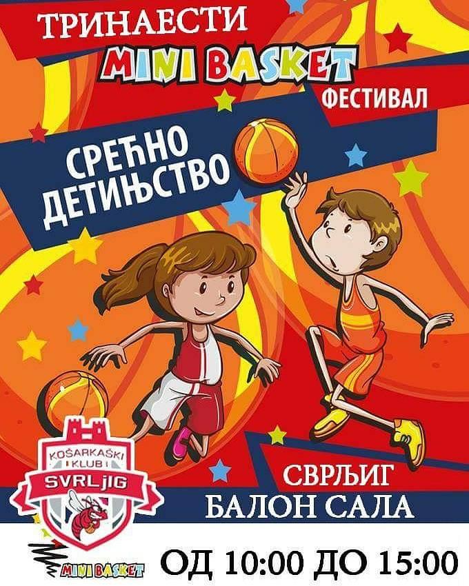 "KK ""Svrljig"" domaćin završnice 13. ""Mini basket"" festivala"
