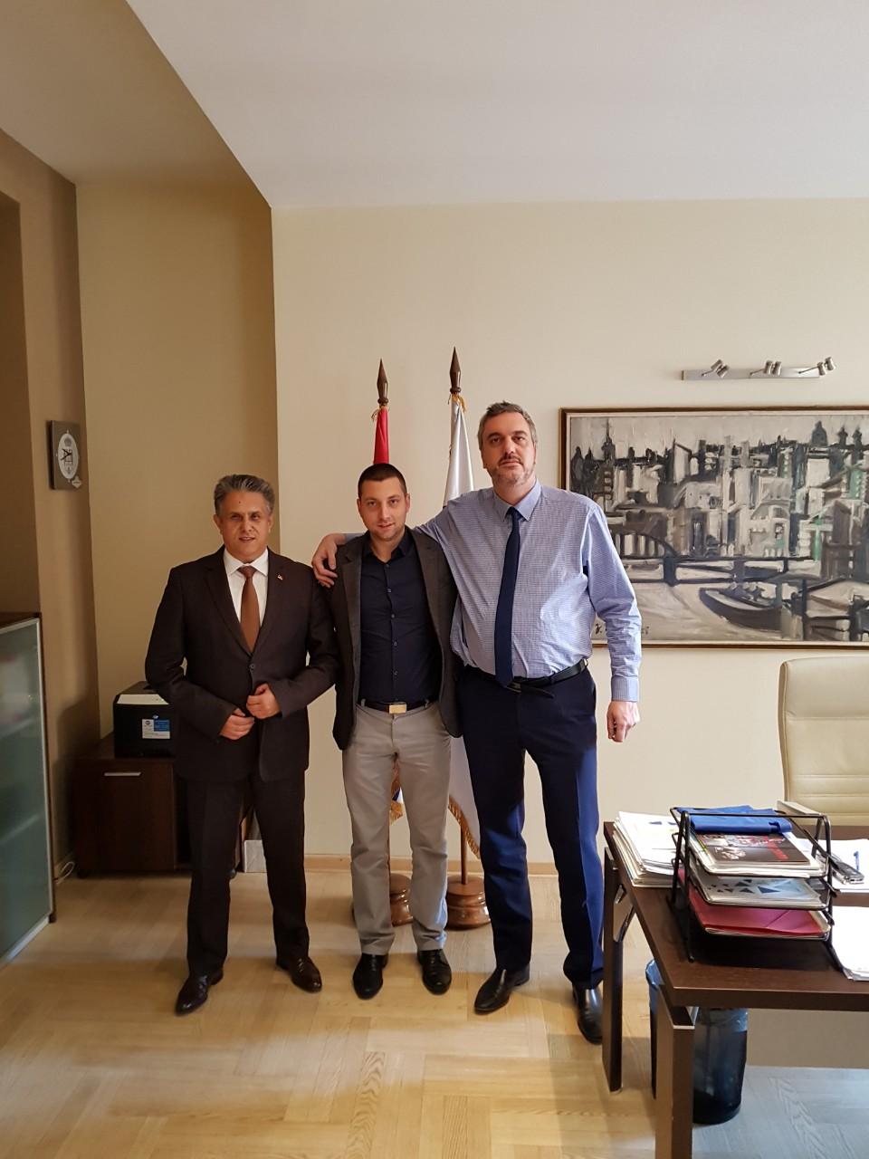 Miletić i Marković se sastali sa predsednikom Privredne komorom Srbije